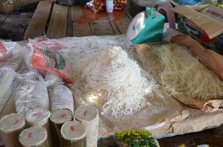 Marktszene Vang Vieng