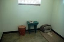 Gefängniszelle von Nelson Mandela